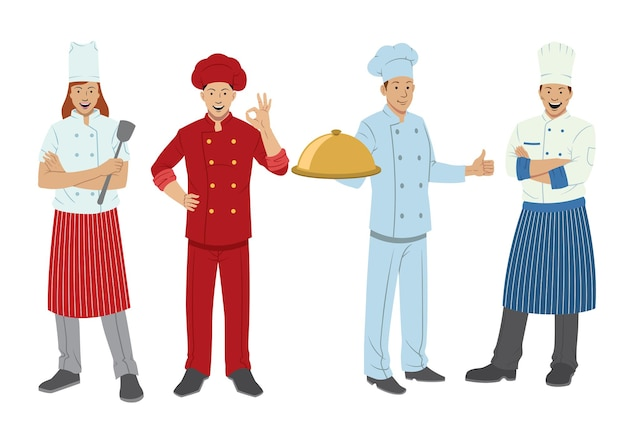 Набор символов шеф-повара