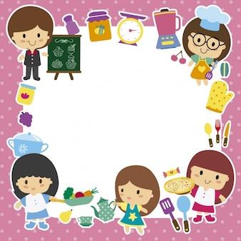 Chef children frame