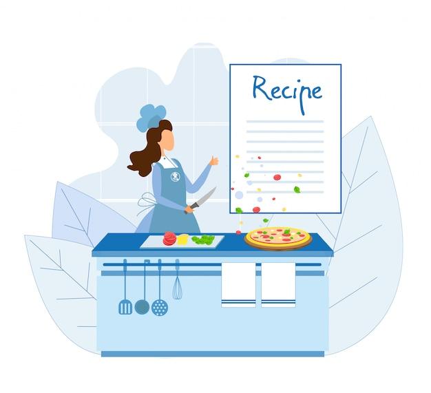 Шеф-повар готовит пиццу по классическому рецепту