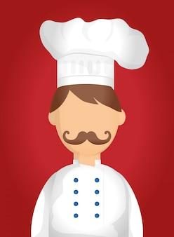 Chef design. illuistration