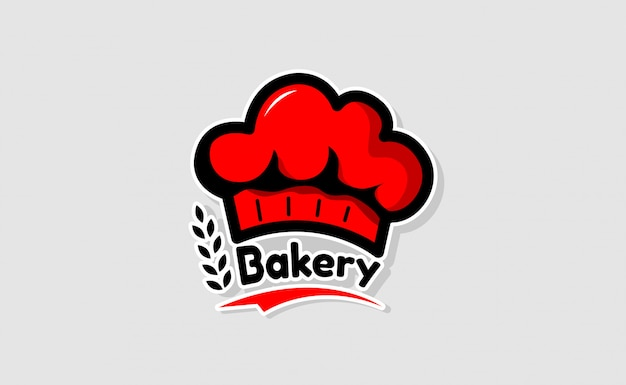 Шеф-повар шляпу логотип шаблонов. дизайн логотипа ресторана вдохновение. пекарня логотип