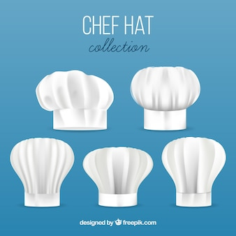 Chef hats collection