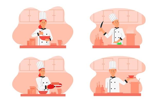 요리사 그림