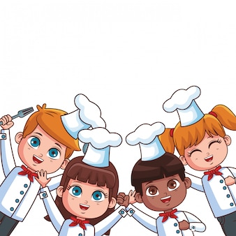 Chef kids cartoons