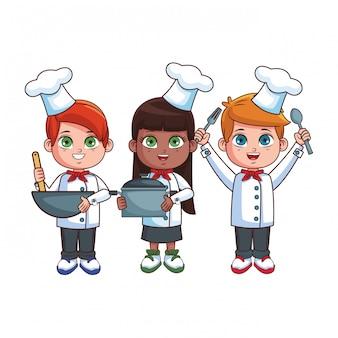 Chef kids cartoons