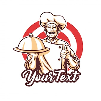 Chef logo for restaurant