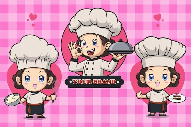 요리사 로고