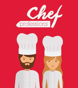 Chef profession  design