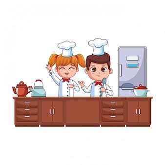 Chefs kids cartoon
