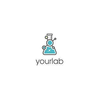 Chemical lab logo