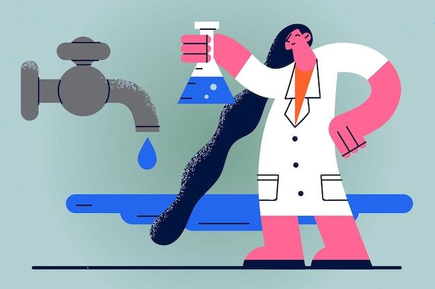 水科学の概念における化学物質