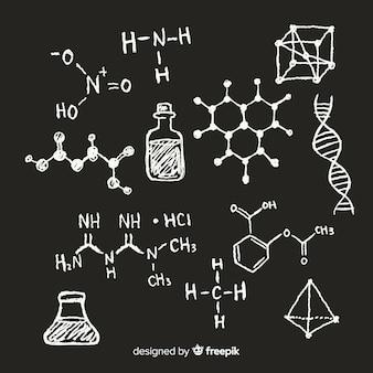 Chemistry on blackboard