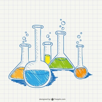 Chemistry conceptual drawing