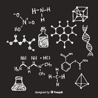칠판에 화학
