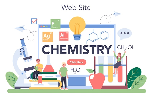 化学のオンラインサービスまたはプラットフォーム