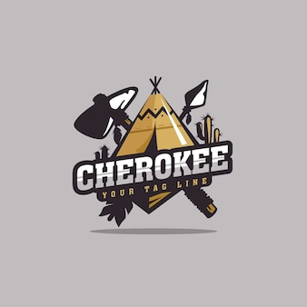 Дизайн логотипа cherokee