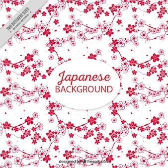 桜の自然の背景