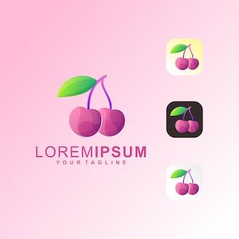 Cherry premium logo