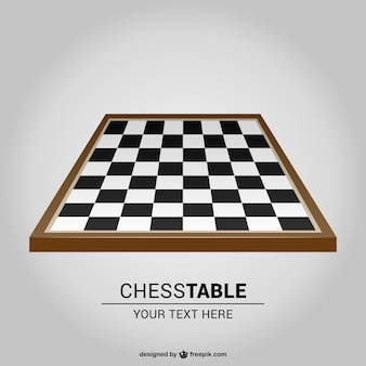 Chess board vector