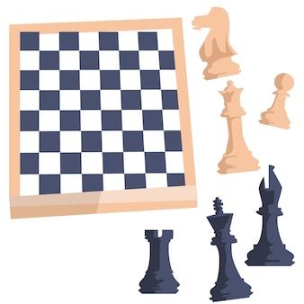 Шахматная доска с рисунками