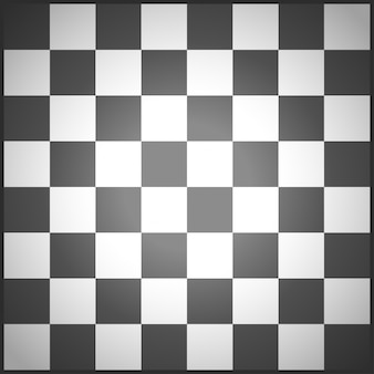Chess field black