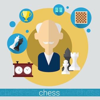 Игрок шахматной игры