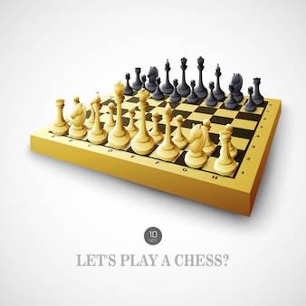 Chess.  illustration