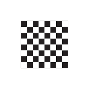 Chessboard icon on white background.