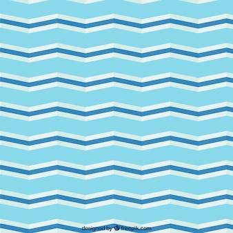 Chevron pattern in blue tones