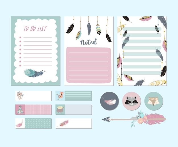 Chic printable and sticker