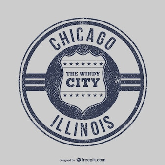 Chicago stamp