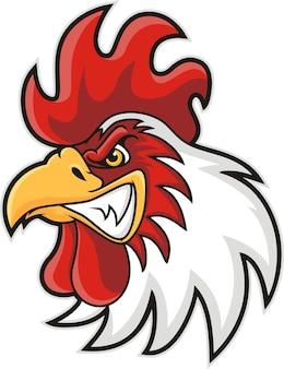 닭 머리 마스코트