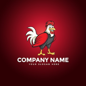 The chicken rooster logo