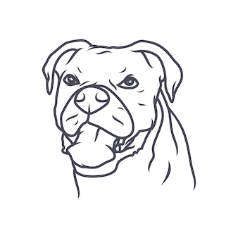 Chihuahua dog - vector logo/icon illustration mascot