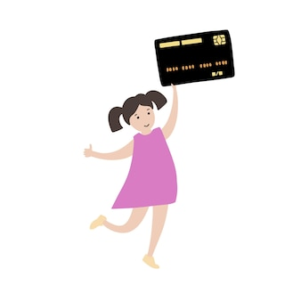 아동 금융 교육 기호입니다. 투자, 예산 계획 은행 및 동전 기호입니다.