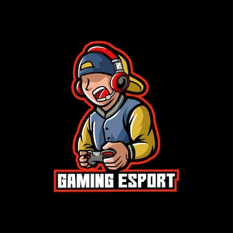 Child gaming e-sport gamer, controller and streaming