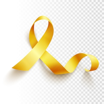 Childhood cancer day isolated