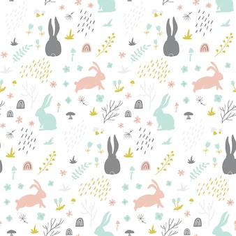 Childish seamless pattern