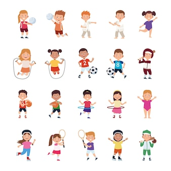 Children activities set