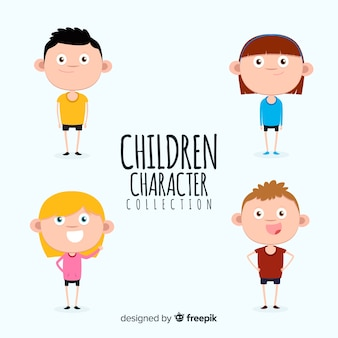 Children character collection