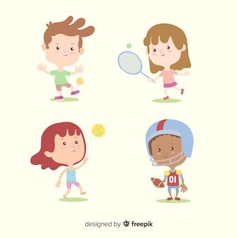 子供キャラクターコレクション