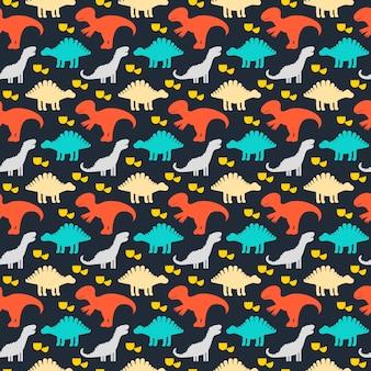 Children cute seamless pattern