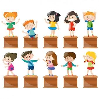 Bambini disegni collezione