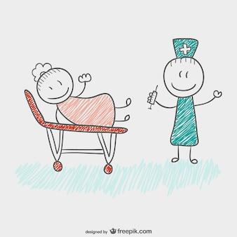 Детский рисунок врачу