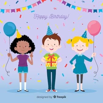 Children in birthdays collection