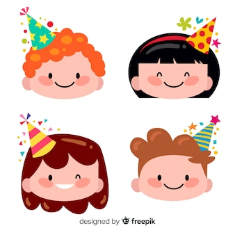 Children in birthdays collection