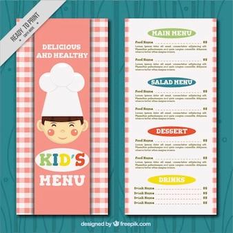 Menù per bambini con lo chef