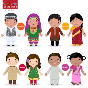 世界の子供たち-アフガニスタン-バングラデシュ-パキスタン-スリランカ