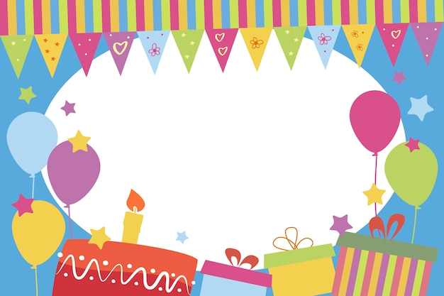 子供のフォトフレーム、誕生日プレゼント付き