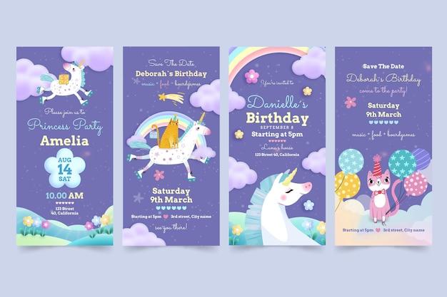 Детские рассказы о днях рождения в инстаграм